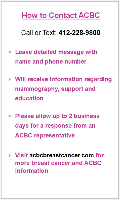 How to Contact ACBC information