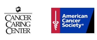 Cancer Caring Center logo, American Cancer Society logo